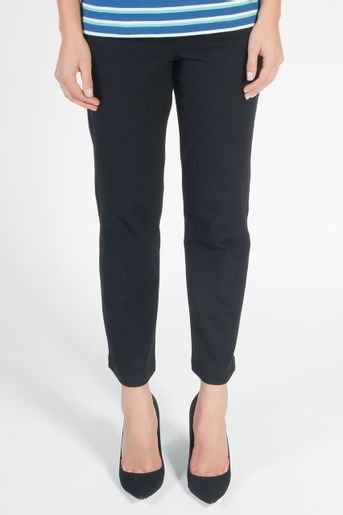 calca-pantacourt-cotton-preta-frente