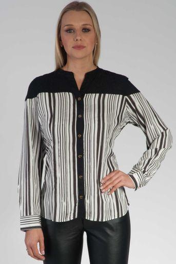 camisa-slim-listrada-manga-longa-frente